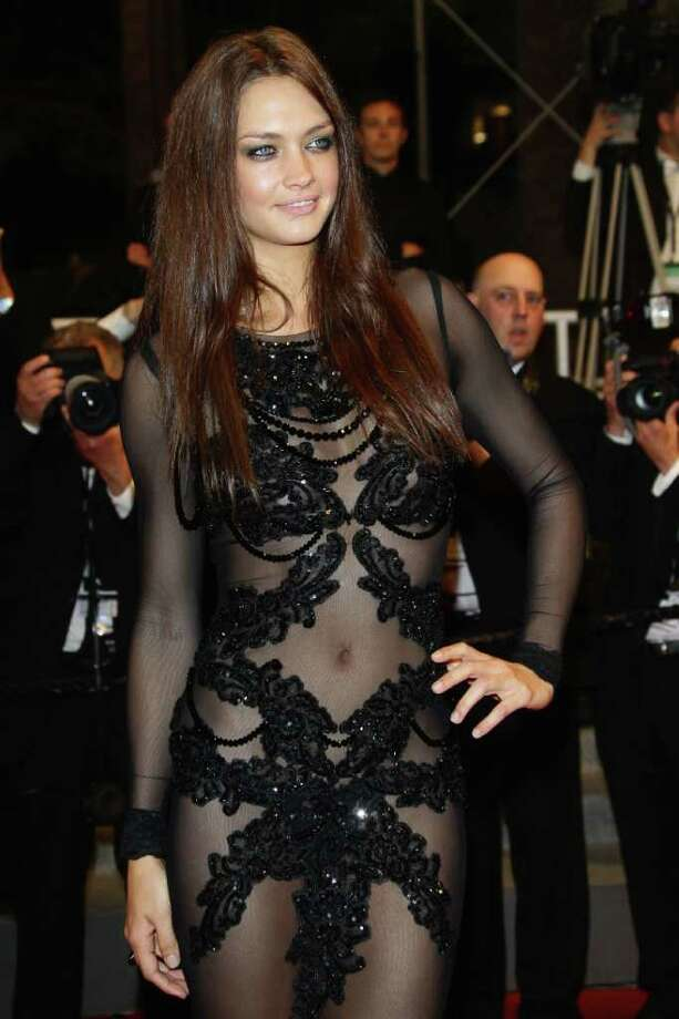 "Model Candice Boucher attends the ""Hearat Shulayim"" premiere at the Palais des Festivals during the 64th Cannes Film Festival on May 14, 2011 in Cannes, France. Photo: Vittorio Zunino Celotto, Getty Images / 2011 Getty Images"