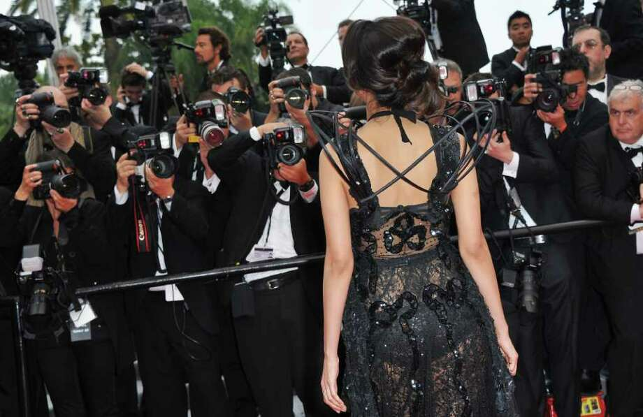 "Actress Stephanie Sigman attends the ""Pirates of the Caribbean: On Stranger Tides"" premiere at the Palais des Festivals during the 64th Cannes Film Festival on May 14, 2011 in Cannes, France. Photo: Pascal Le Segretain, Getty Images / 2011 Getty Images"