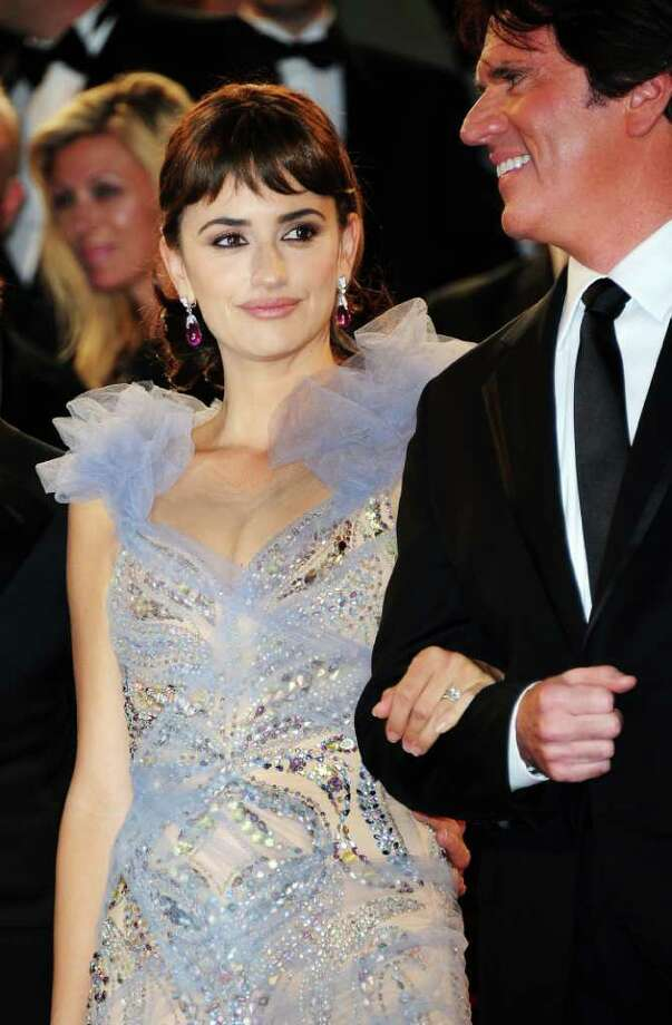 "Penelope Cruz (L) and director Rob Marshall depart the ""Pirates of the Caribbean: On Stranger Tides"" premiere at the Palais des Festivals during the 64th Cannes Film Festival on May 14, 2011 in Cannes, France. Photo: Francois Durand, Getty Images / 2011 Getty Images"