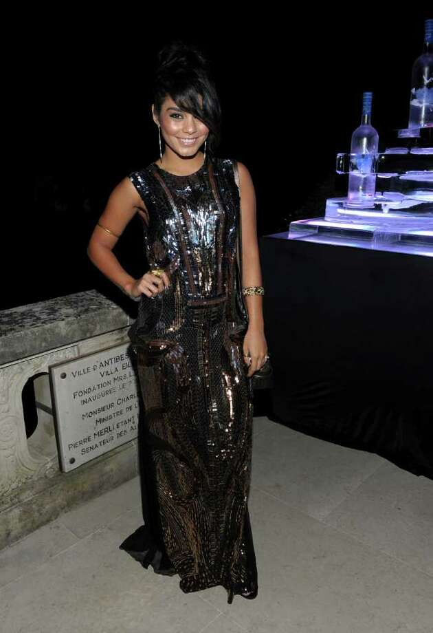 Actress Vanessa Hudgens attends the CAA Party with Grey Goose at Soho House Cannes in celebration of the 64th Annual Cannes Film Festival at Villa Eilenroc on May 14, 2011 in Cannes, France. Photo: Michael Buckner, Getty Images For Grey Goose / 2011 Getty Images