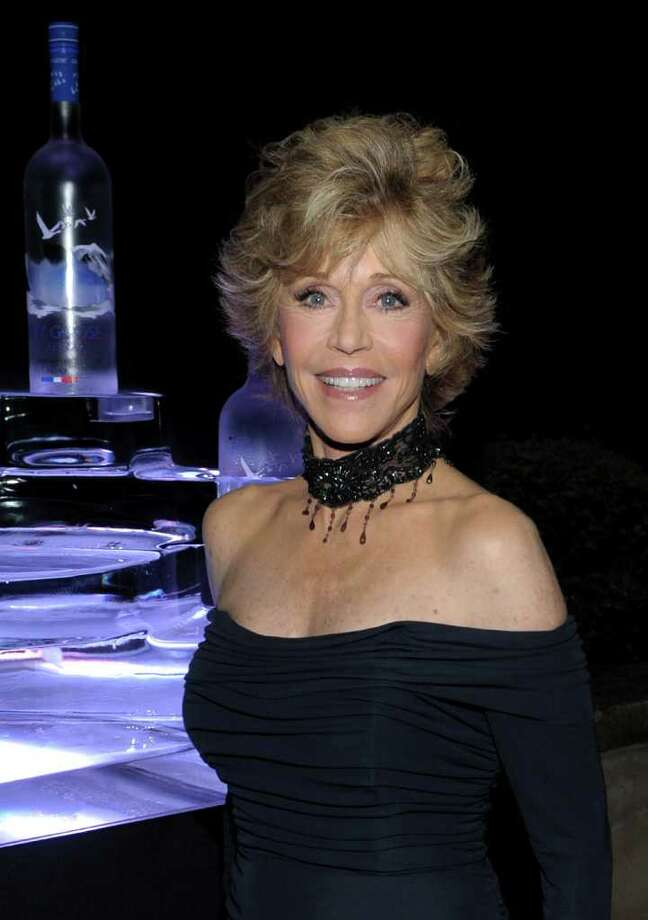 Actress Jane Fonda attends the CAA Party with Grey Goose at Soho House Cannes in celebration of the 64th Annual Cannes Film Festival at Villa Eilenroc on May 14, 2011 in Cannes, France. Photo: Michael Buckner, Getty Images For Grey Goose / 2011 Getty Images