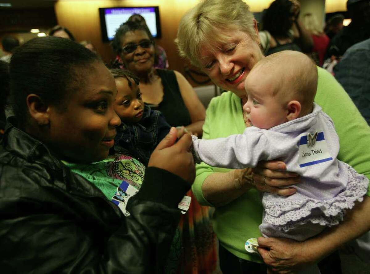 The Newborn Intensive Care Unit's annual reunion at Bridgeport Hospital in Bridgeport on Sunday, May 15, 2011.