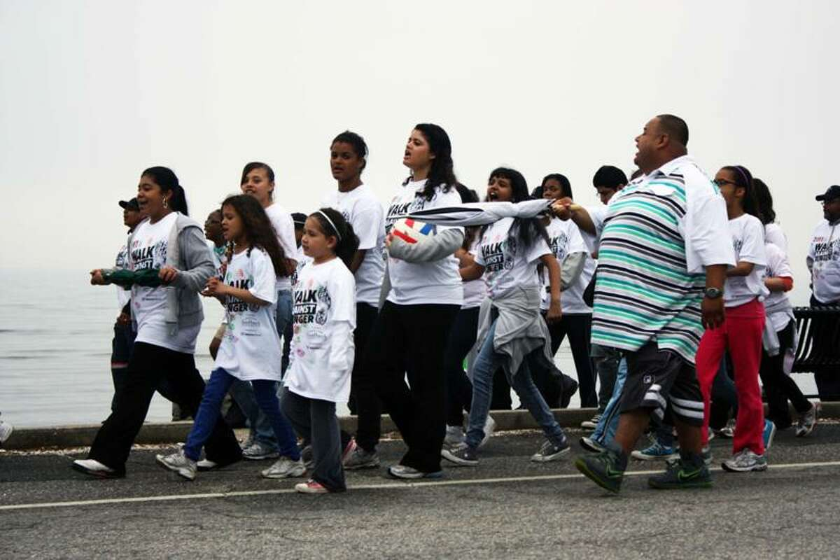 The 2011 Walk Against Hunger to benefit Connecticut Food Bank presented by Webster Bank.