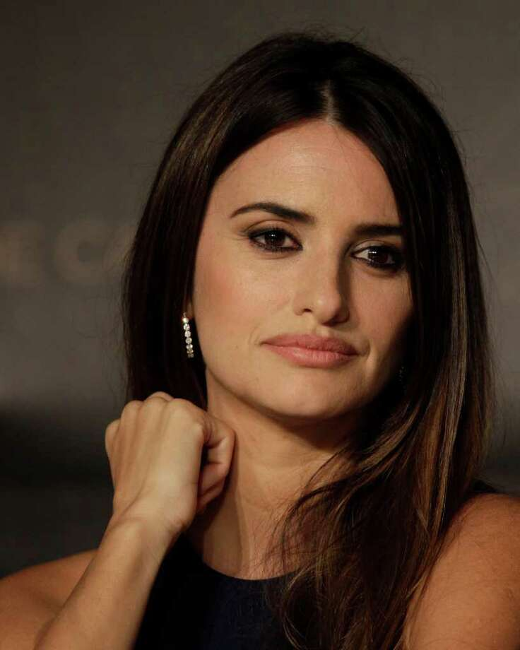 Actress Penelope Cruz attends a press conference for Pirates of the Caribbean: On Stranger Tides at the 64th international film festival, in Cannes, southern France, Saturday, May 14, 2011. Photo: AP