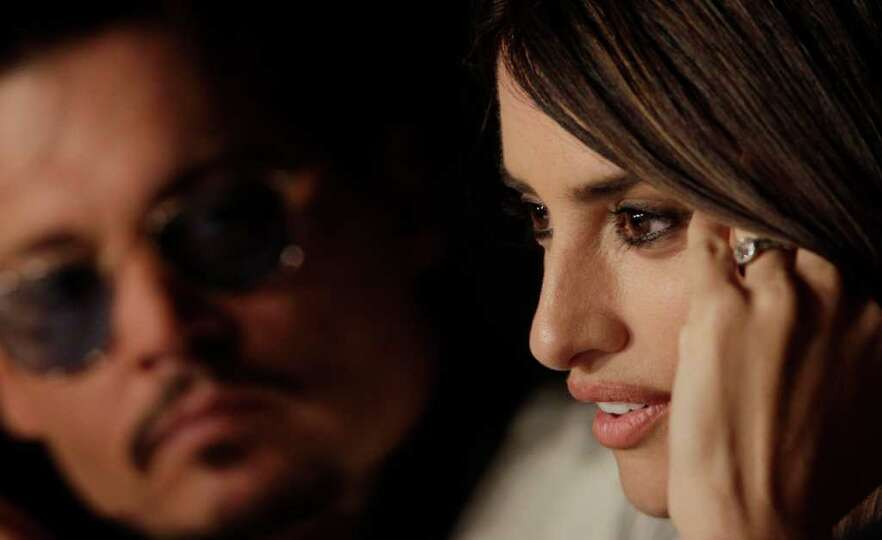 Actress Penelope Cruz attends a press conference for Pirates of the Caribbean: On Stranger Tides at