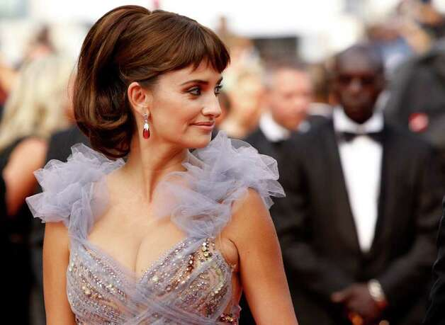 Actress Penelope Cruz arrives for the screening of Pirates of the Caribbean: On Stranger Tides, at the 64th international film festival, in Cannes, southern France, Saturday, May 14, 2011. Photo: AP