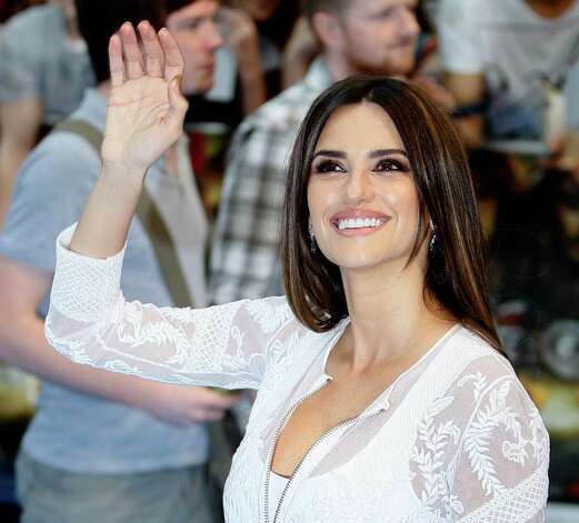 Spanish actress Penelope Cruz arrives at the UK Premier of the film 'Pirates of the Caribbean - On Stranger Tides ' in London, Thursday, May 12, 2011. Photo: Alastair Grant, AP / AP