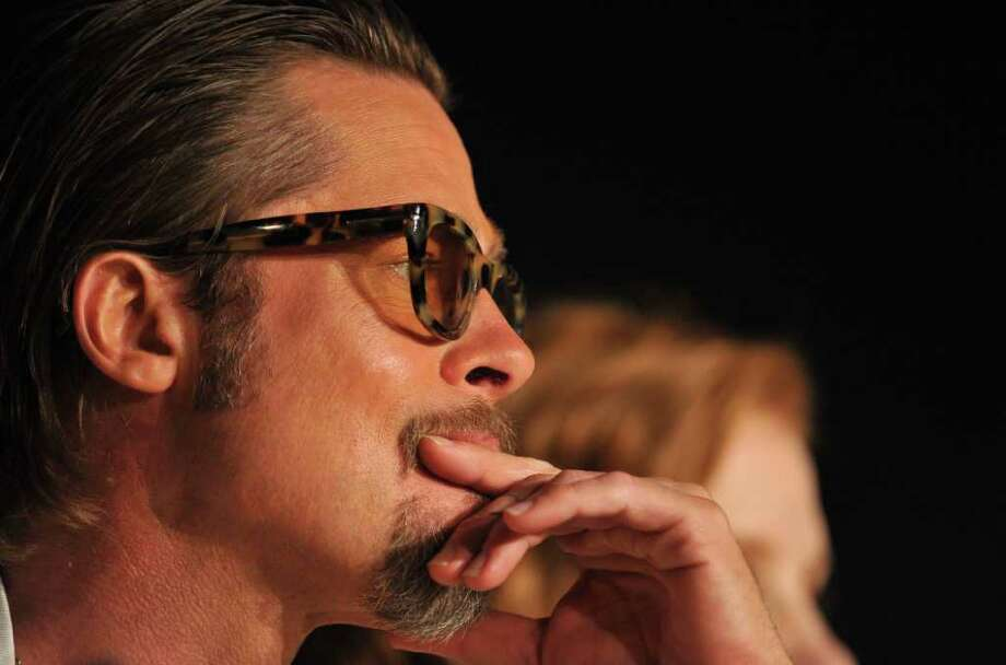 "Actor Brad Pitt attends the ""The Tree Of Life"" press conference during the 64th Annual Cannes Film Festival at Palais des Festivals on Monday in Cannes, France. Photo: Pascal Le Segretain, Getty Images / 2011 Getty Images"
