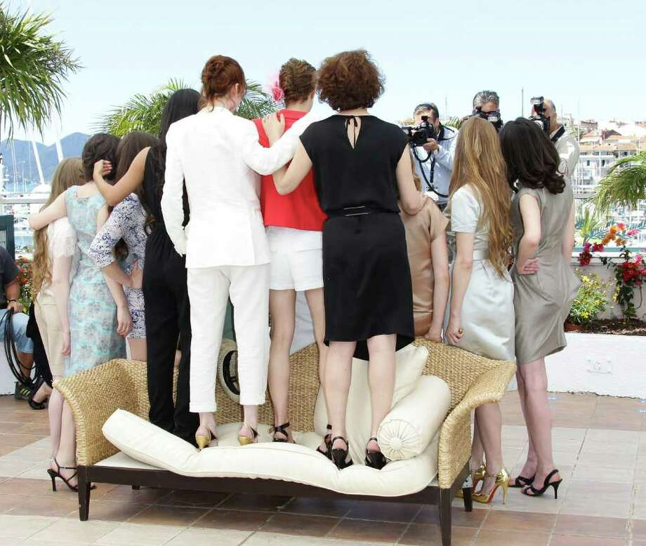 "The cast pose during the ""L'Apollonide"" photocall during the 64th Annual Cannes Film Festival at Palais des Festivals on Monday in Cannes, France. Photo: Vittorio Zunino Celotto, Getty Images / 2011 Getty Images"