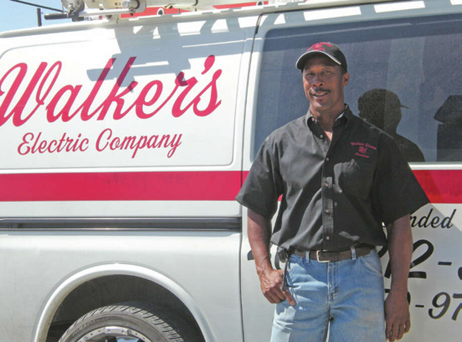 Calvin Walker, owner of Walker's Electric Company. Photo provided by walkerselectriccompany.com