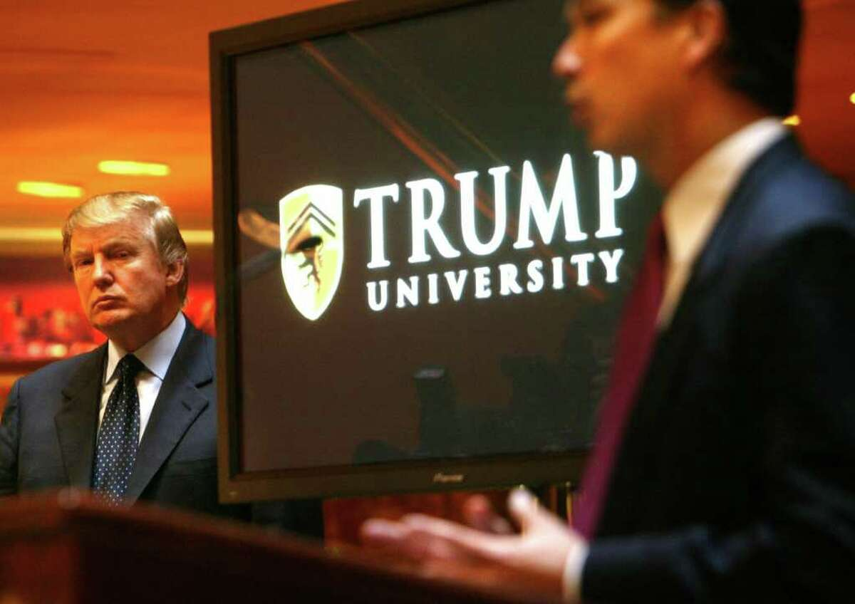 """But where's the scam? It sounds like the enrollees just made a bad investment. The university promised many things that they did not deliver, according to investigators. Some of the claims: -Trump """"handpicked"""" the instructors. -The three-day seminar also offered a year-long """"Apprenticeship Support"""" program. -Consumers received instruction on Donald Trump's own real estate strategies and techniques. Much of what the school promised never transpired, the attorney general said, leaving consumers in debt and without the skills to make a living in the real estate market. """"Many felt they had been victims of an elaborate scam,"""" Schneiderman wrote. In addition, Trump University violated federal consumer protection law, he alleges."""