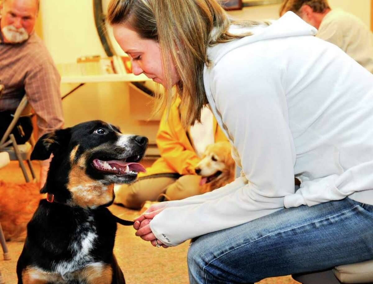 Redding's Vanessa McPherson and her dog