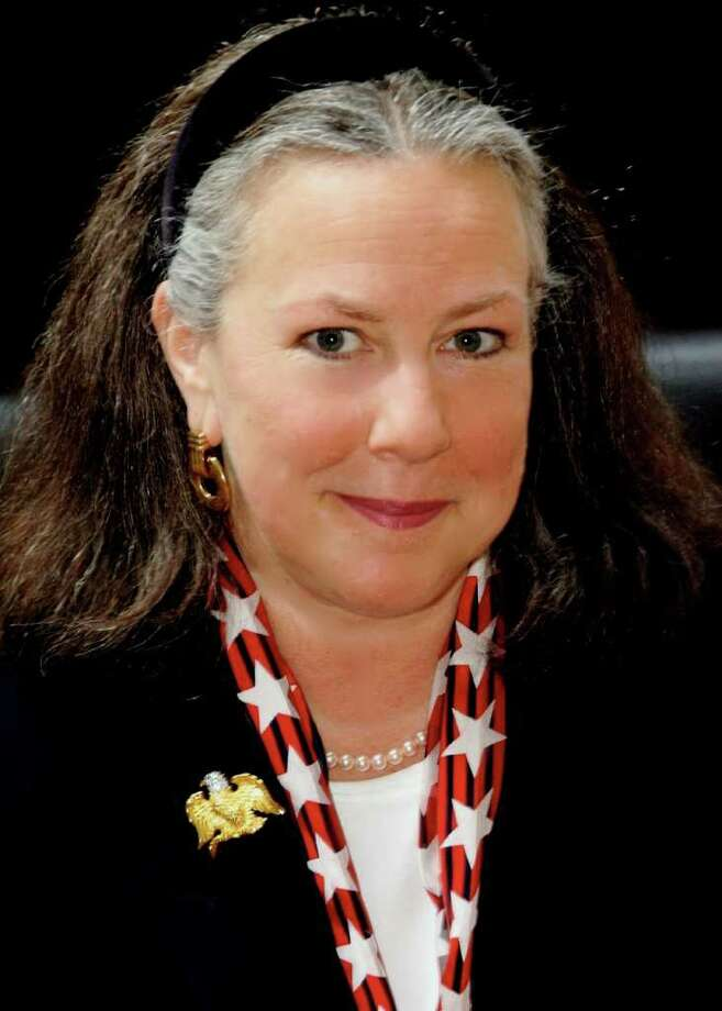Claudia Weber will seek her party's endorsement for an eighth term as town clerk. Photo: Contributed Photo / New Canaan News