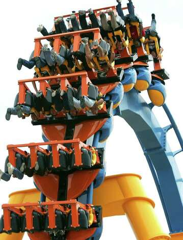 The Goliath ride at Six Flags Fiesta Texas. (File photo) Photo: Bob Owen, SAN ANTONIO EXPRESS-NEWS / SAN ANTONIO EXPRESS-NEWS