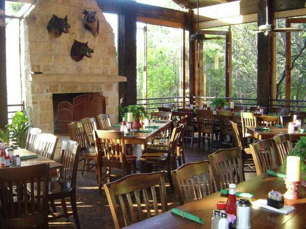 The Gristmill River Restaurant & Bar in New Braunfels offers this private room.