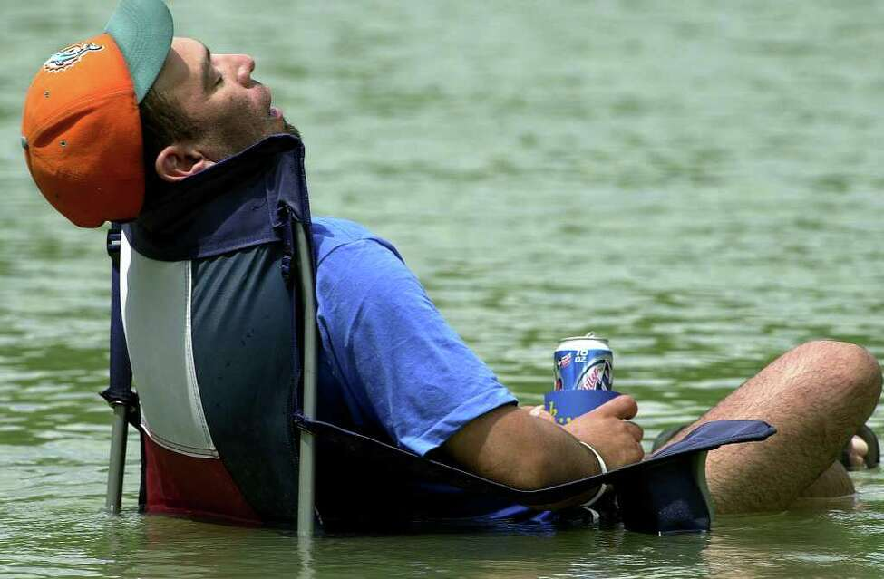 1. The sleeper: These people fall into two categories: those who are in such dire need for rest and relaxation that they recline as soon as they get into their tube (or river chair), and those who are too drunk and sunburned to move any of their limbs.