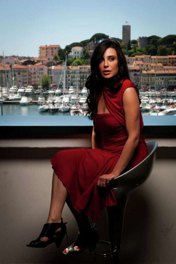 Lebanese actress and director, Nadine Labaki, poses during a photo session at the 64th Cannes Film Festival on Tuesday in Cannes. AFP PHOTO / MARTIN BUREAU Photo: MARTIN BUREAU, AFP/Getty Images / 2011 AFP