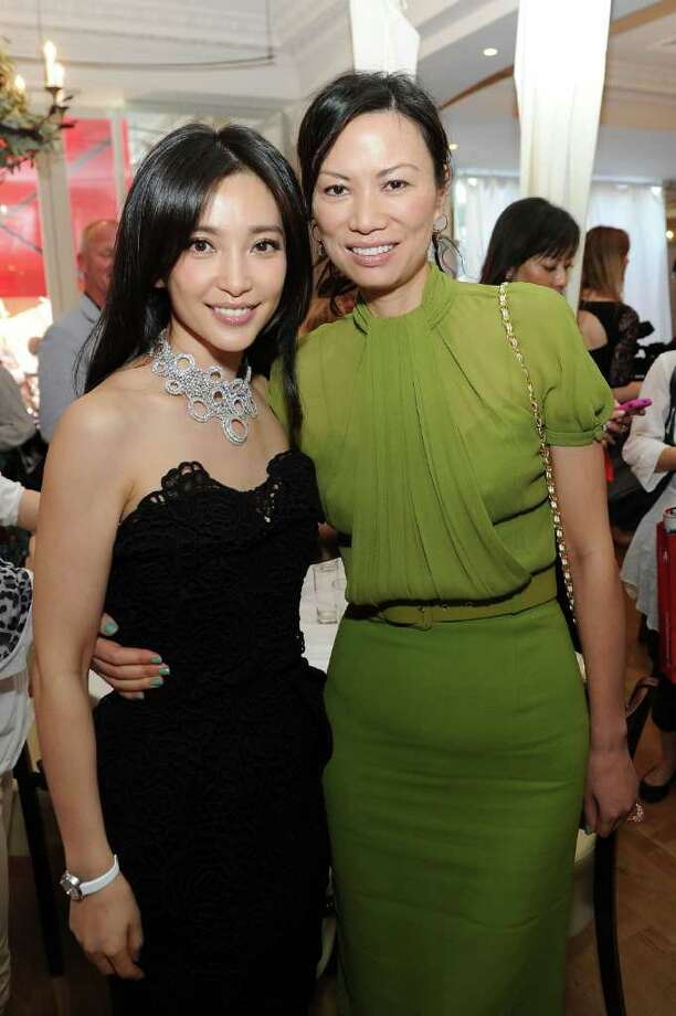 "Actress Bing Bing Li (L) and producer Wendi Deng Murdoch attend the ""Snow Flower and the Secret Fan"" Luncheon at the Carlton Beach during the 64th  Cannes Film Festival on Tuesday in Cannes, France. Photo: Michael Buckner, Getty Images For Bronson / 2011 Getty Images"