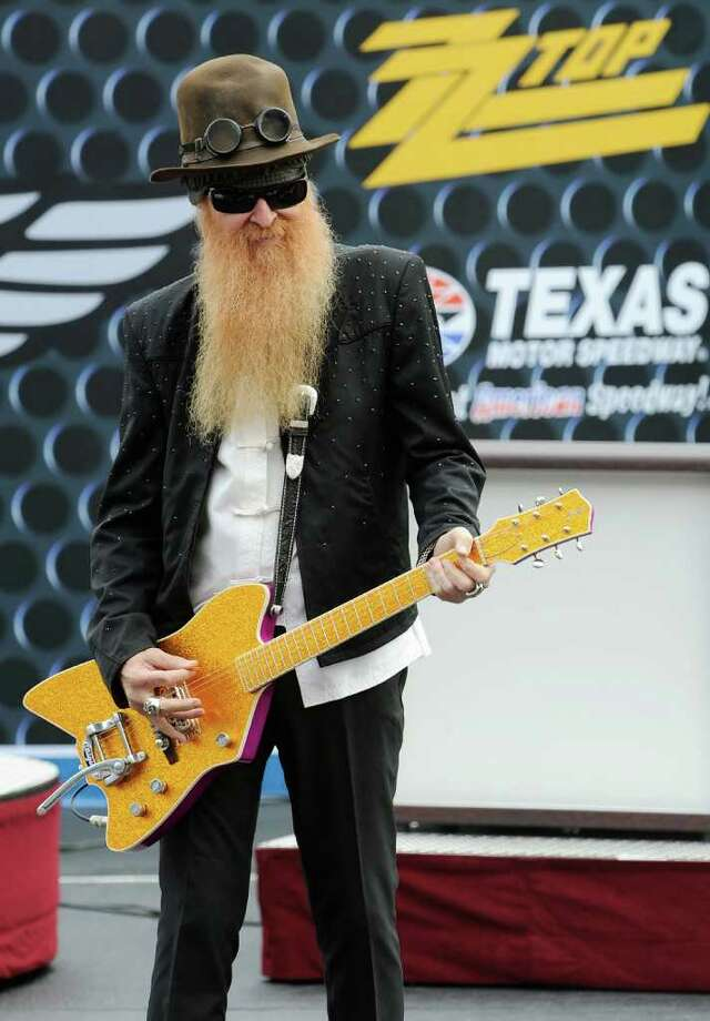 M, May 4, 1991. Gov. Ann Richards declared this as ZZ Top day across Texas. Photo: John Harrelson, Getty Images For NASCAR / 2009 Getty Images