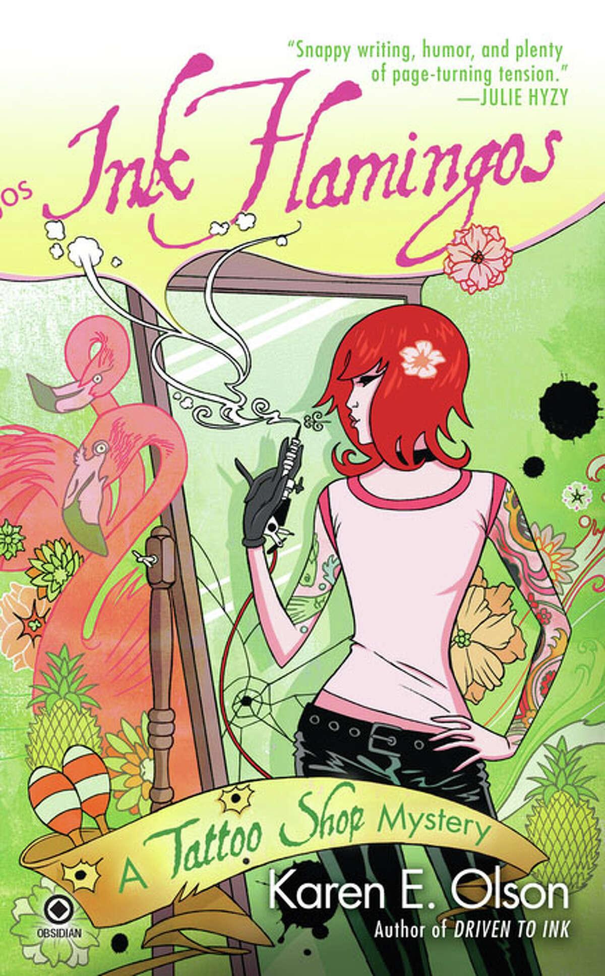New Haven journalist Karen Olson has a new novel in her series about a Las Vegas tattoo artist.