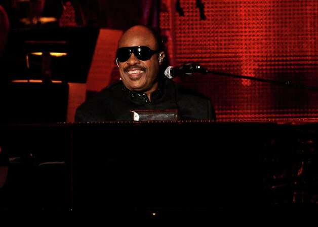 Stevie Wonder performs at the MusiCares Person of the Year gala honoring Barbra Streisand on Friday Feb. 11, 2011 in Los Angeles. (AP Photo/Chris Pizzello) Photo: Chris Pizzello, STF / AP