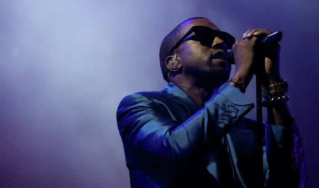 FILE - In this Nov. 12, 2010 file photo,  Kanye West performs in Yas Island in Abu Dhabi, United Arab Emirates. (AP Photo/Nousha Salimi, File) Photo: Nousha Salimi, STR / AP