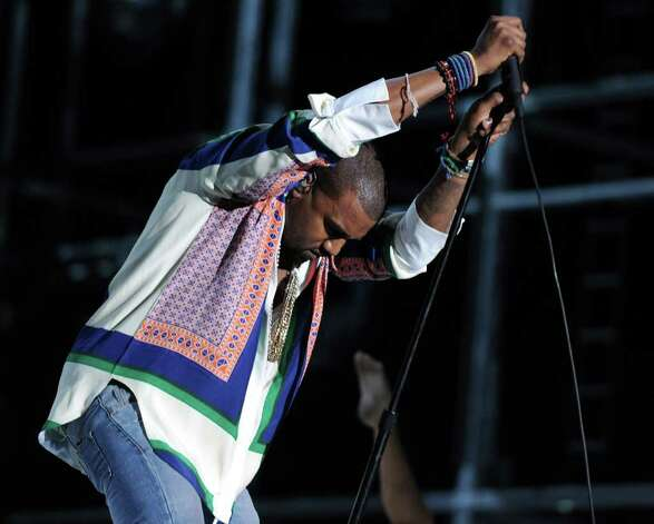 INDIO, CA - APRIL 17:  Rapper Kanye West performs during Day 3 of the Coachella Valley Music & Arts Festival 2011 held at the Empire Polo Club on April 17, 2011 in Indio, California.  (Photo by Kevin Winter/Getty Images) Photo: Kevin Winter, Staff / Getty Images North America