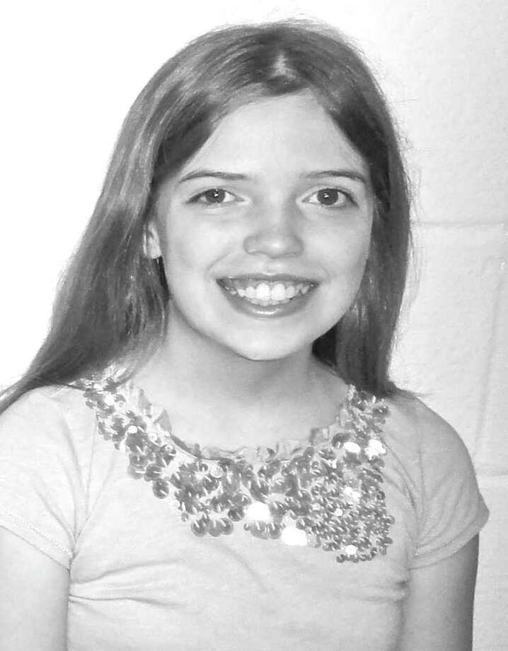 Central Middle School sixth grader Adriana Knight Photo: Contributed Photo / Greenwich Citizen