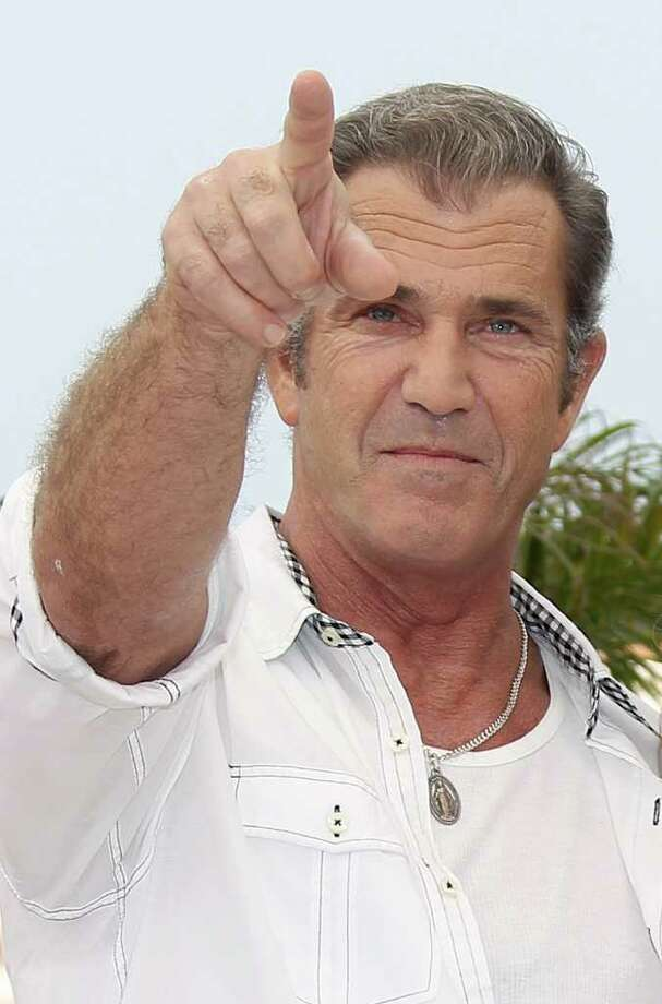"US actor Mel Gibson poses during the photocall of ""The Beaver"" presented out of competition at the 64th Cannes Film Festival on Wednesday in Cannes.              AFP PHOTO / VALERY HACHE Photo: VALERY HACHE, AFP/Getty Images / 2011 AFP"