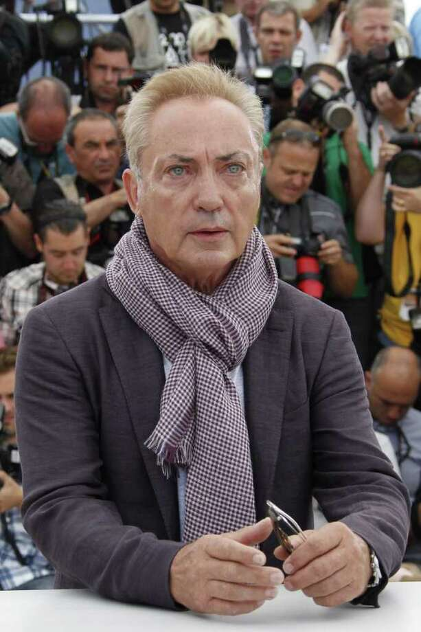 "German actor Udo Kier poses during the photocall of ""Melancholia"" presented in competition at the 64th Cannes Film Festival on May 18, 2011 in Cannes.  AFP PHOTO / FRANCOIS GUILLOT Photo: FRANCOIS GUILLOT, AFP/Getty Images / 2011 AFP"