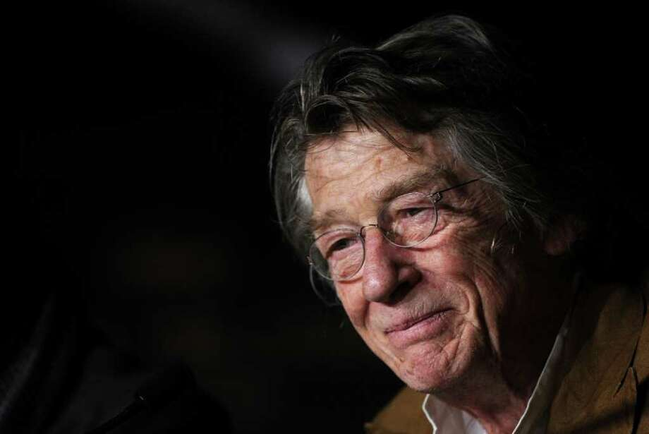 "British actor John Hurt attends the press conference of ""Melancholia"" presented in competition at the 64th Cannes Film Festival on May 18, 2011 in Cannes.        AFP PHOTO / ANNE-CHRISTINE POUJOULAT Photo: ANNE-CHRISTINE POUJOULAT, AFP/Getty Images / 2011 AFP"