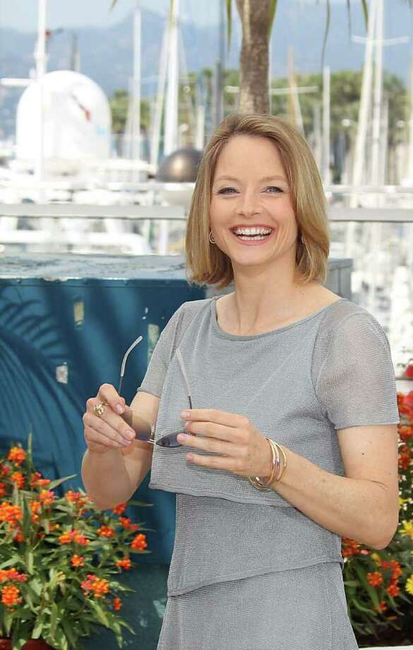"Jodie Foster poses during the photocall of ""The Beaver"" presented out of competition at the 64th Cannes Film Festival on Wednesday in Cannes.          AFP PHOTO / VALERY HACHE Photo: VALERY HACHE, AFP/Getty Images / 2011 AFP"