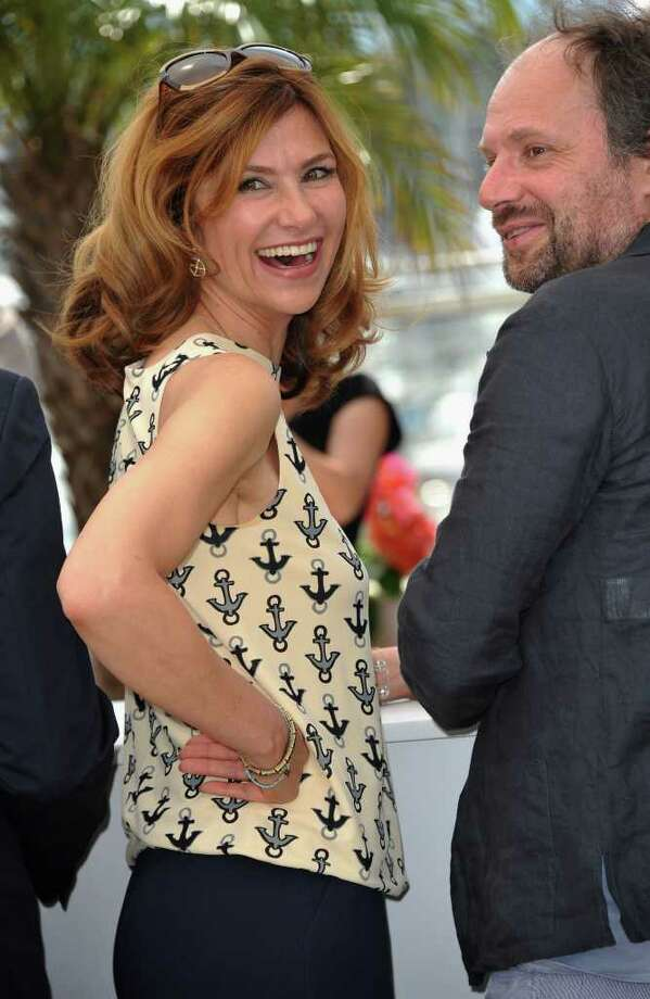 "CANNES, FRANCE - MAY 18:  Florence Pernel attends the ""La Conquete"" photocall at the Palais des Festivals during the 64th Cannes Film Festival on May 18, 2011 in Cannes, France. Photo: Francois Durand, Getty Images / 2011 Getty Images"