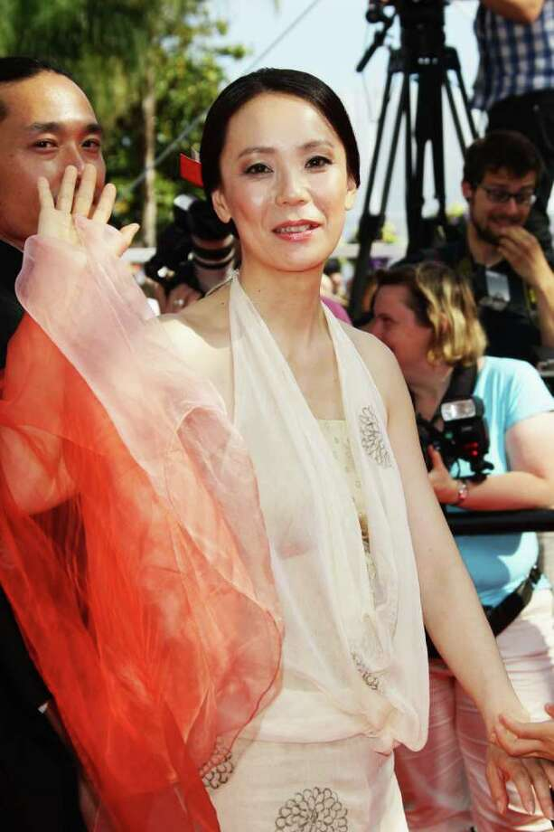 "CANNES, FRANCE - MAY 18:  Director Naomi Kawase attends the ""Hanezu No Tsuki"" premiere at the Palais des Festivals during the 64th Cannes Film Festival on May 18, 2011 in Cannes, France. Photo: Vittorio Zunino Celotto, Getty Images / 2011 Getty Images"
