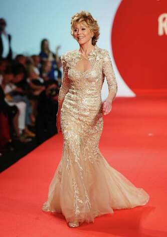 CANNES, FRANCE - MAY 16:  Actress Jane Fonda walks the runway at the Fashion For Relief at Forville market during the 64th Annual Cannes Film Festival on May 16, 2011 in Cannes, France.  (Photo by Ian Gavan/Getty Images) Photo: Ian Gavan, Stringer / 2011 Getty Images