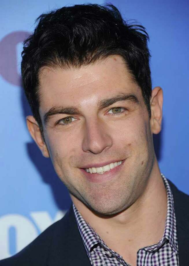 """Outstanding Supporting Actor In A Comedy Series 2012Max Greenfield as Schmidt """"New Girl"""" Photo: Dimitrios Kambouris, Getty Images / 2011 Getty Images"""