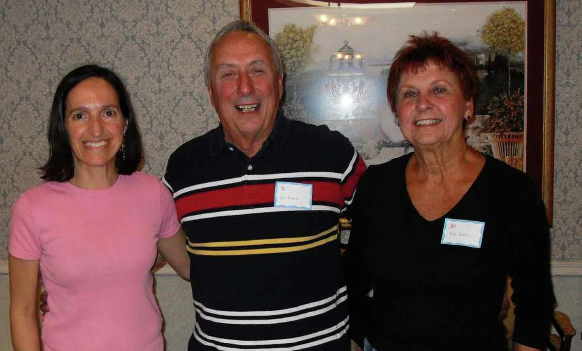 Dinha Neto, Dr. Edward Marici and wife, Lorraine Marici attended the recent reunion at Candlewood Valley Health & Rehabilitation Center.