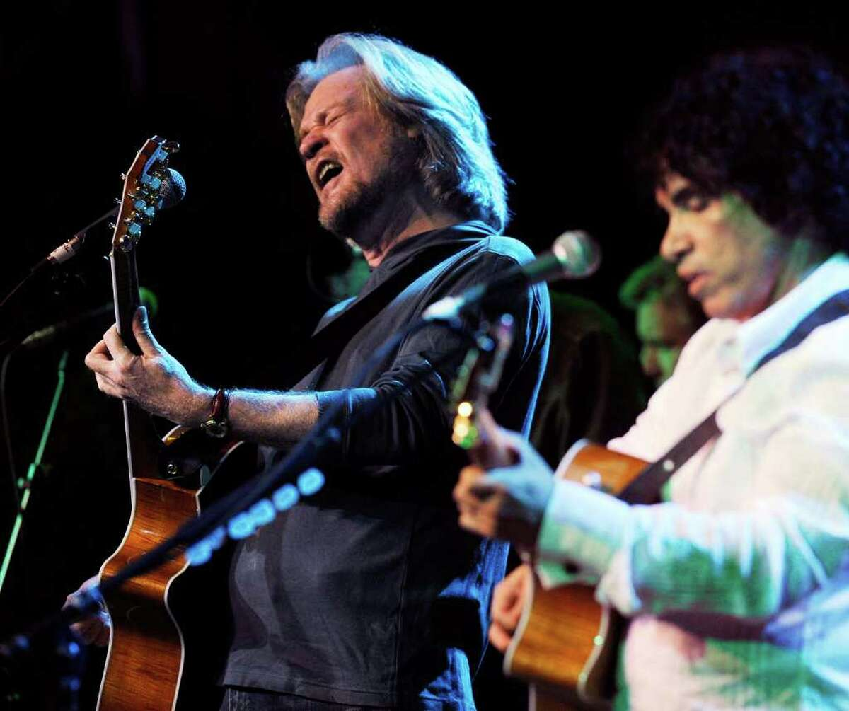 Songwriting team Daryl Hall, left, and John Oates, perform together.(AP Photo/Chris Pizzello) Daryl Hall wants a change in zoning regulations in Sherman where he has a 30-arce estate.
