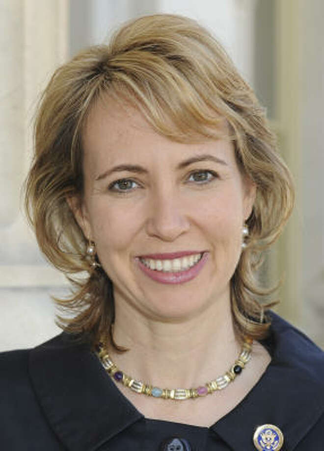Rep. Gabrielle Giffords, D-Ariz., was shot in the head during a campaign event in January. Photo: Associated Press
