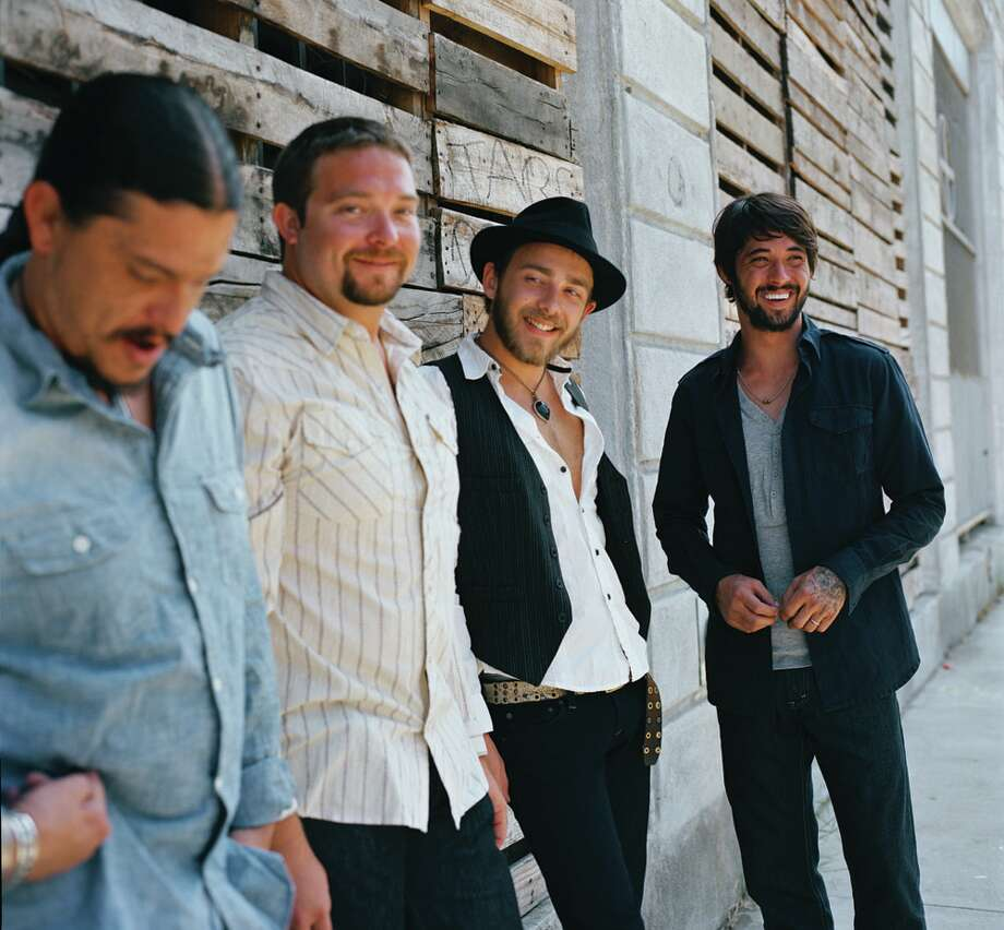 Award-winning singer/songwriter Ryan Bingham (right), with his band the Dead Horses, is based in Los Angeles, but he hasn't gone Hollywood. COURTESY BINGHAMMUSIC.COM