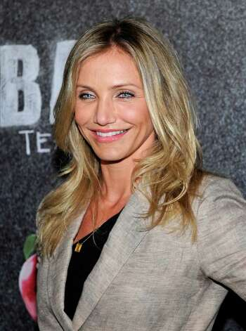 "LAS VEGAS, NV - MARCH 30:  Actress Cameron Diaz, recipient of the CinemaCon Female Star of the Year award, arrives to promote her upcoming Sony Pictures Entertainment film, ""Bad Teacher"" at The Colosseum at Caesars Palace during CinemaCon, the official convention of the National Association of Theatre Owners, March 30, 2011 in Las Vegas, Nevada.  (Photo by Ethan Miller/Getty Images) *** Local Caption *** Cameron Diaz Photo: Ethan Miller, Getty Images / 2011 Getty Images"