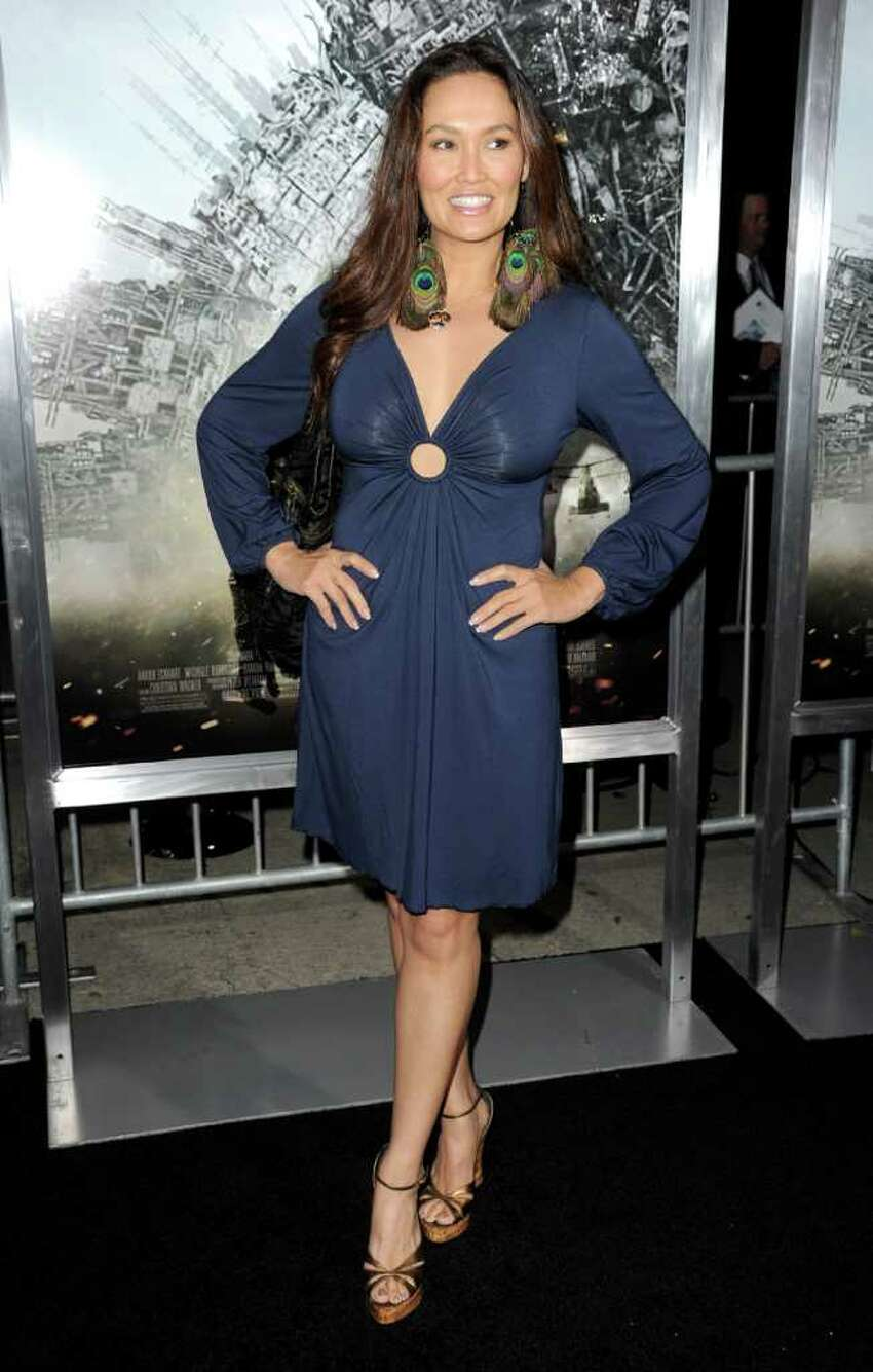 Actress Tia Carrere arrives at the premiere of Columbia Pictures'