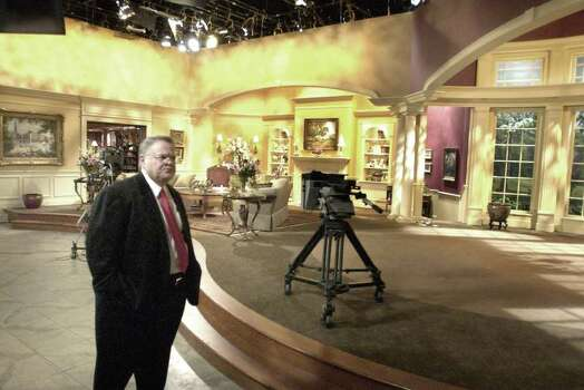 John Hagee went from pastor of a growing ambitious ministry called Cornerstone Church to CEO of a large, multi-million dollar evangelism enterprise called Global Evangelism Television.   Wednesday May 21, 2003.  