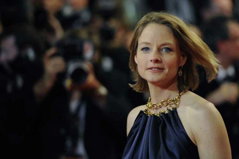 "US actress Jodie Foster poses on the red carpet before the screening of ""Melancholia"" presented in competition at the 64th Cannes Film Festival in Cannes. Photo: AFP/Getty Images"