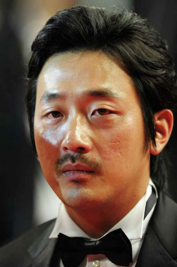 "Actor Jung-woo Ha attends the ""Melancholia"" premiere during the 64th Annual Cannes Film Festival at Palais des Festivals in Cannes, France. Photo: Michael Buckner, Getty Images / 2011 Getty Images"