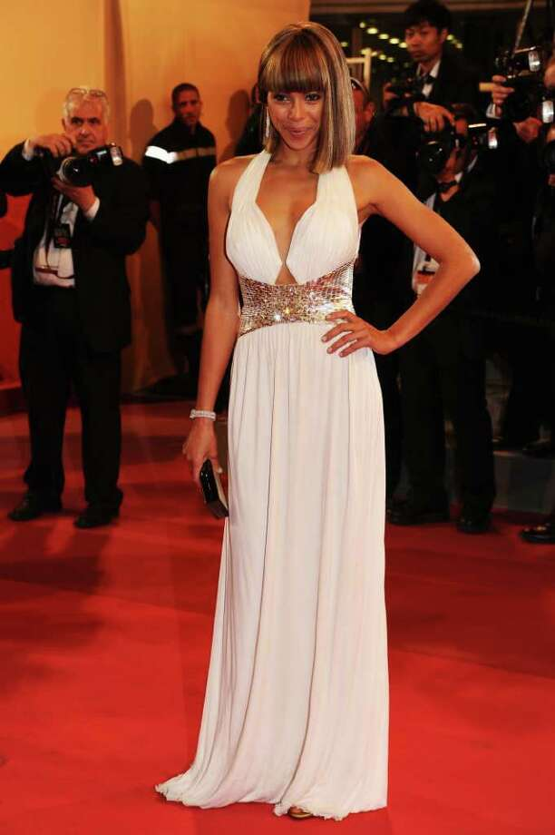 "Model Ana Araujo attends the ""Melancholia"" premiere during the 64th Annual Cannes Film Festival at Palais des Festivals in Cannes, France. Photo: Ian Gavan, Getty Images / 2011 Getty Images"