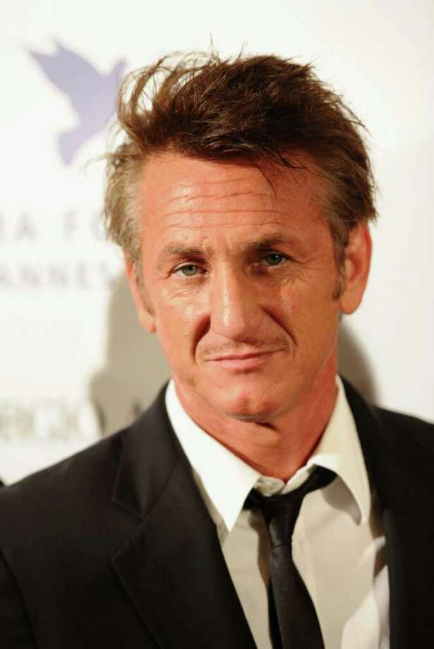 Actor Sean Penn attends Cinema For Peace during the 64th Annual Cannes Film Festival in Cannes, France. Photo: Ian Gavan, Getty Images / 2011 Getty Images