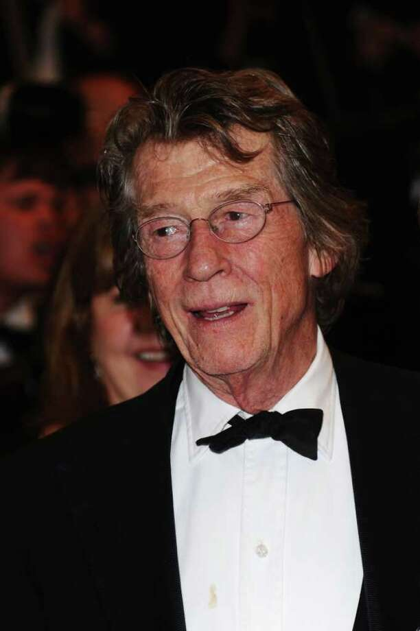 """Actor John Hurt attends the """"Melancholia"""" premiere during the 64th Annual Cannes Film Festival at Palais des Festivals in Cannes, France. Photo: Ian Gavan, Getty Images / 2011 Getty Images"""