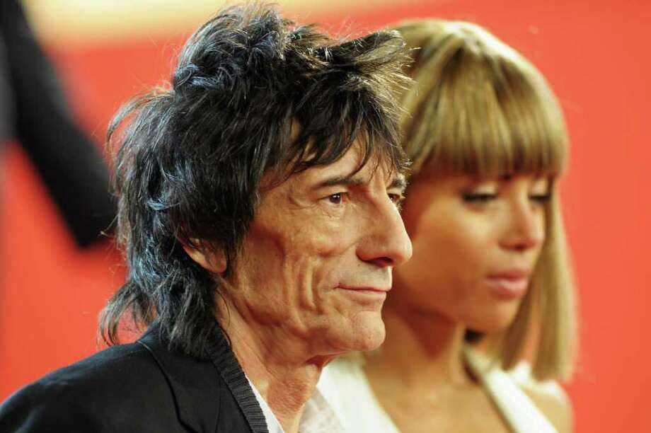 """Ronnie Wood attends the """"Melancholia"""" premiere during the 64th Annual Cannes Film Festival at Palais des Festivals in Cannes, France. Photo: Michael Buckner, Getty Images / 2011 Getty Images"""