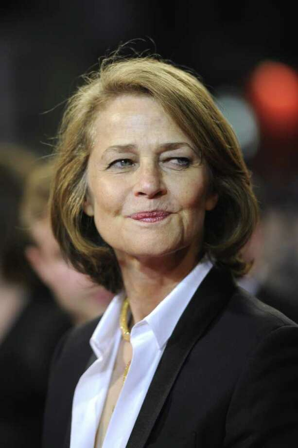 "British actress Charlotte Rampling poses on the red carpet before the screening of ""Melancholia"" presented in competition at the 64th Cannes Film Festival in Cannes. Photo: AFP/Getty Images"
